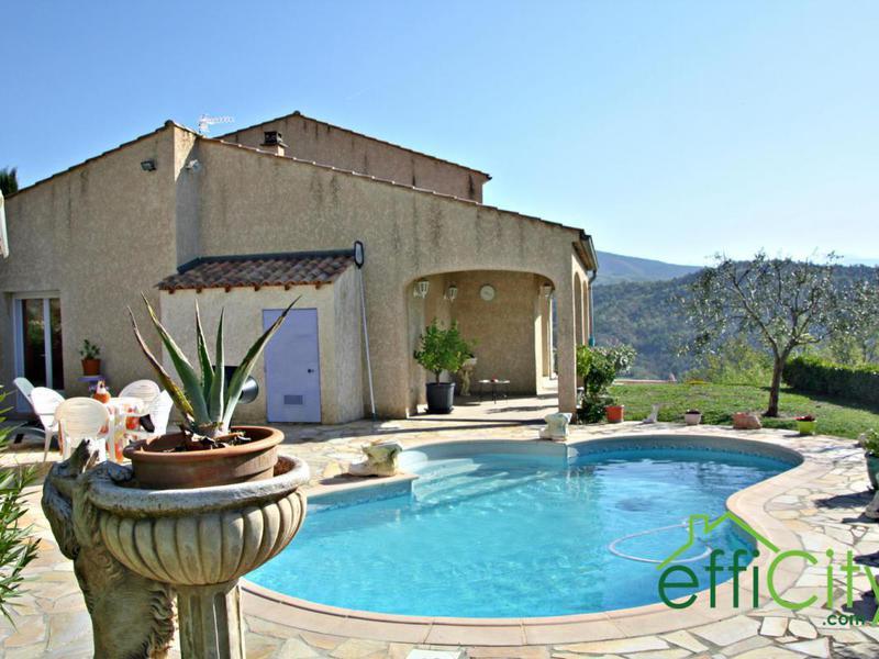 Villa digne bains piscine immofavoris