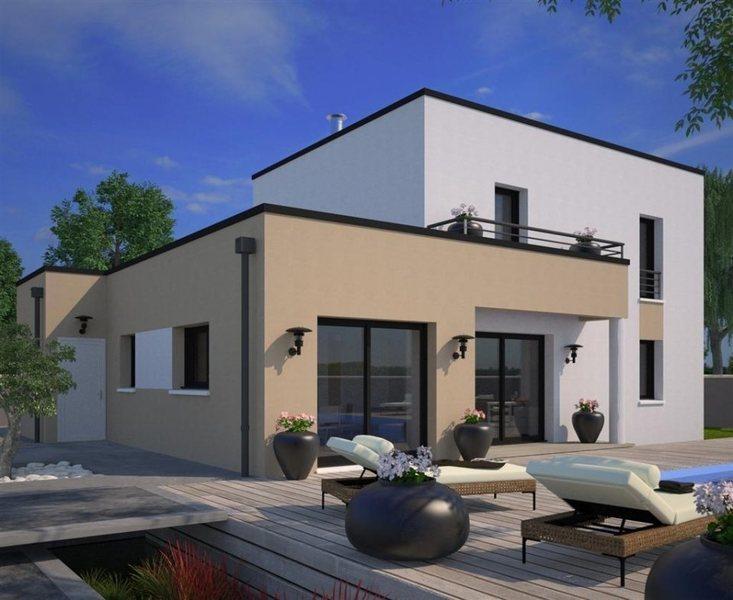 Maison toit plat terrasse immofavoris for Toit plat terrasse