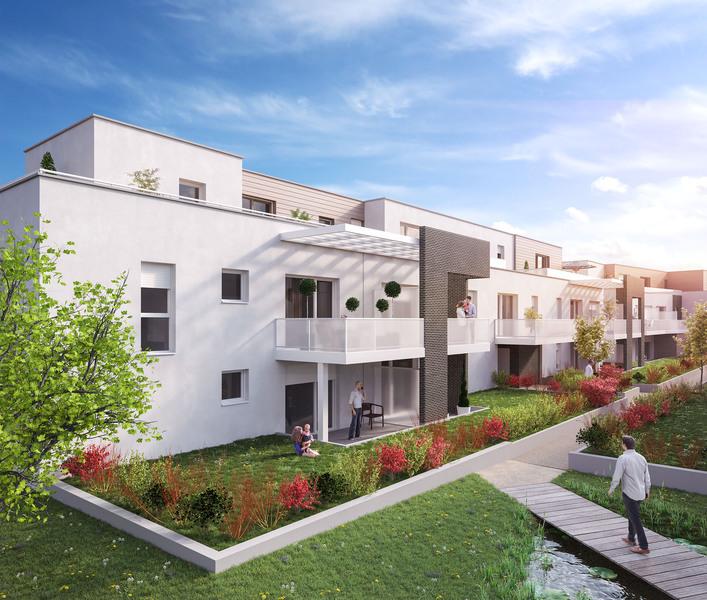 Appartement Robertsau Strasbourg Jardin | immoFavoris