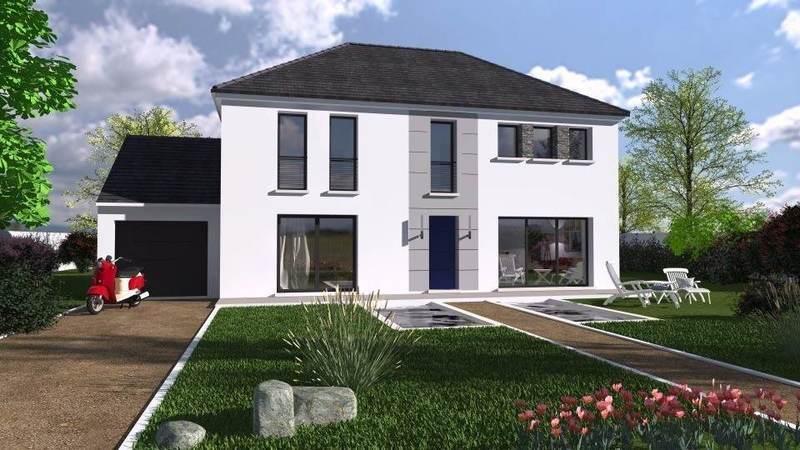 Maison 4 pans toiture immofavoris for Toiture maison neuve